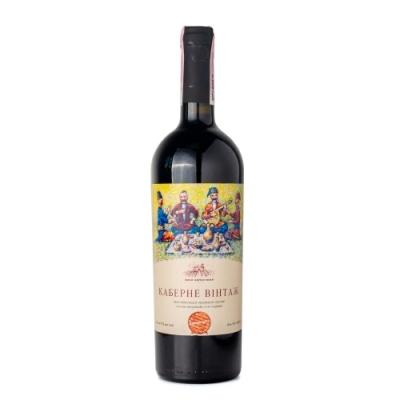 Вино сухое красное Каберне Винтаж 0.75