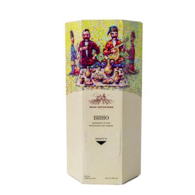 Вино сухое красное Саперави 2л