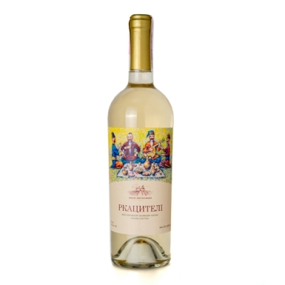 Вино сухе біле Ркацителі 0,75 л