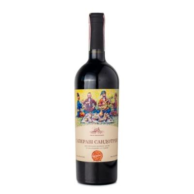 Вино сухое красное Саперави Сандотрен 0,75