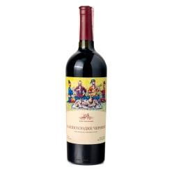 Вино полусладкое красное 0.75 л