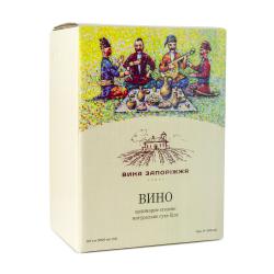Вино сухое белое Шардоне 5л